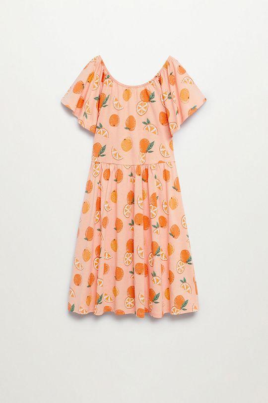 Mango Kids - Sukienka dziecięca Martina 110-164 cm 100 % Bawełna