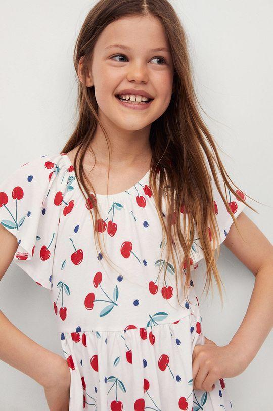 Mango Kids - Dievčenské šaty Martina 110-164 cm  100% Bavlna