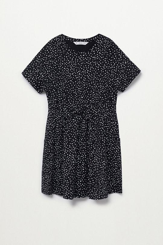 czarny Mango Kids - Sukienka dziecięca Vanesa 110-164 cm Dziewczęcy