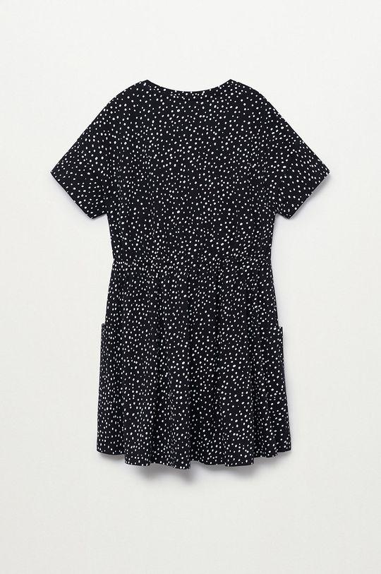 Mango Kids - Sukienka dziecięca Vanesa 110-164 cm czarny