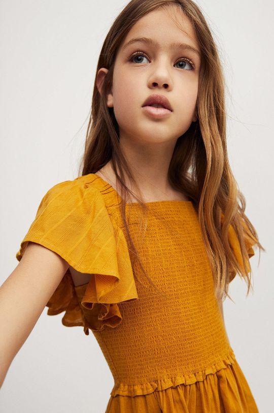 Mango Kids - Dievčenské šaty Natalie 110-164 cm  100% Bavlna