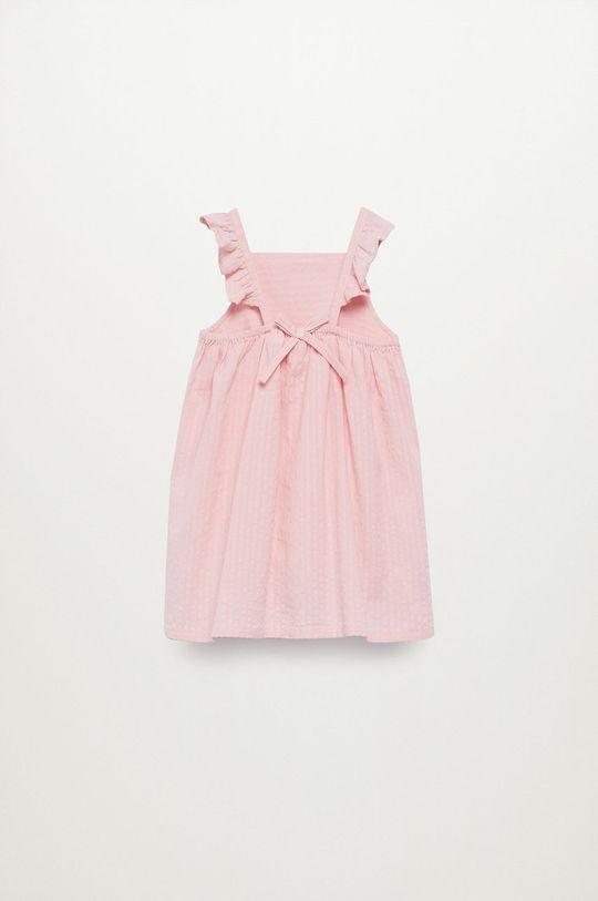 Mango Kids - Sukienka dziecięca Vega 80-110 cm 100 % Bawełna