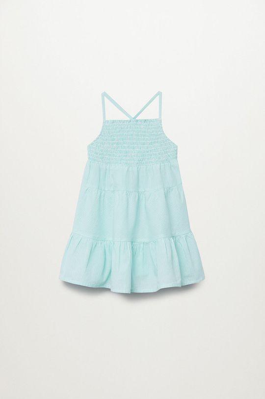 biały Mango Kids - Sukienka dziecięca Porto 80-110 cm Dziewczęcy