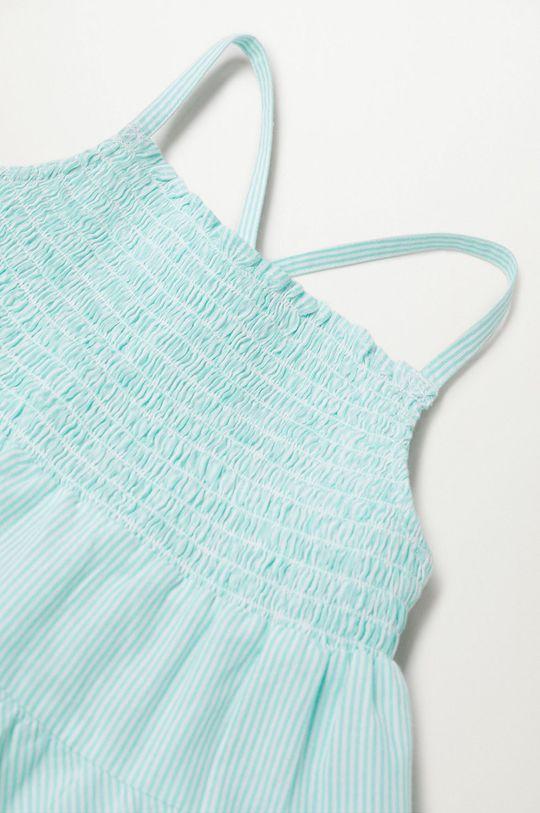 Mango Kids - Sukienka dziecięca Porto 80-110 cm biały