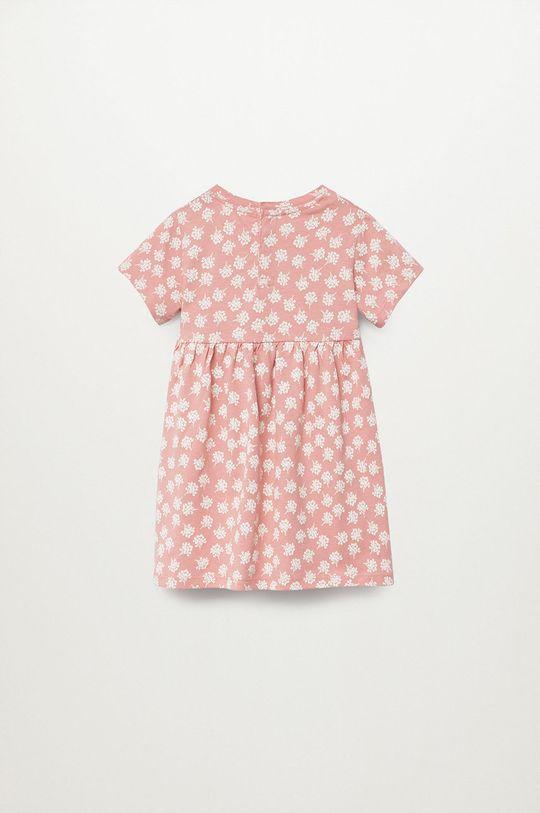 Mango Kids - Dievčenské šaty VICKY červená