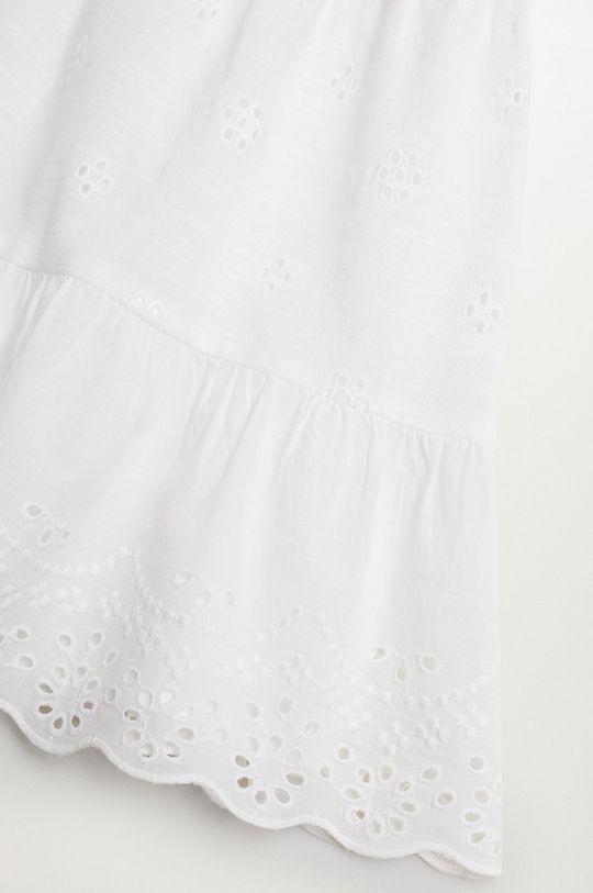 Mango Kids - Sukienka dziecięca PLAYA 100 % Bawełna