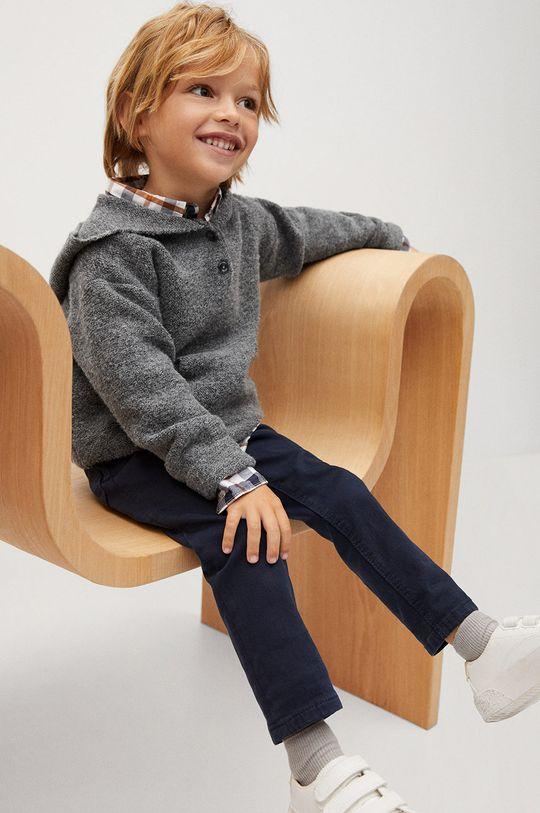 Mango Kids - Sweter dziecięcy CHARLIE szary