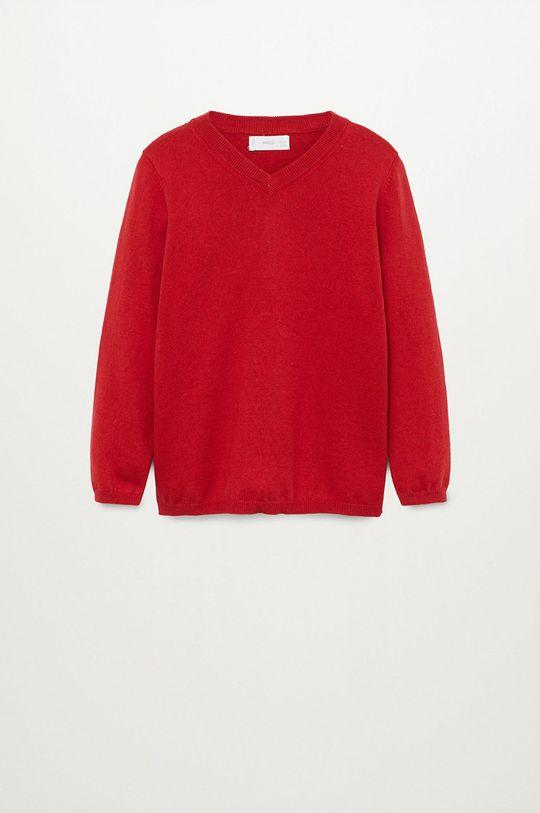czerwony Mango Kids - Sweter dziecięcy TENPICO Chłopięcy