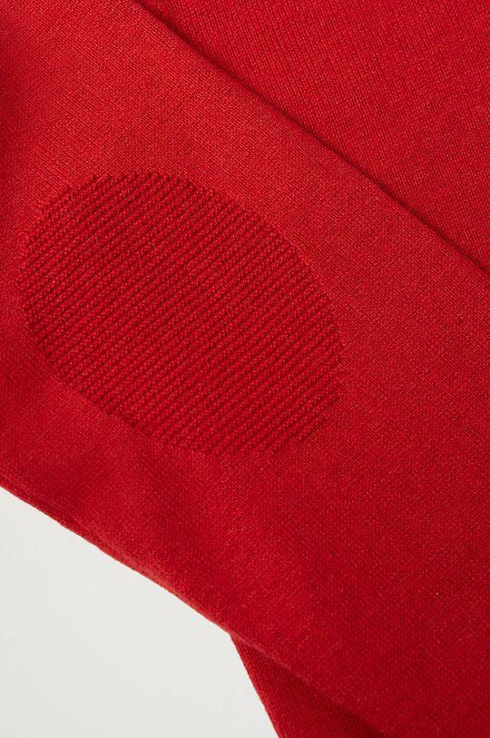 Mango Kids - Sweter dziecięcy TENPICO czerwony