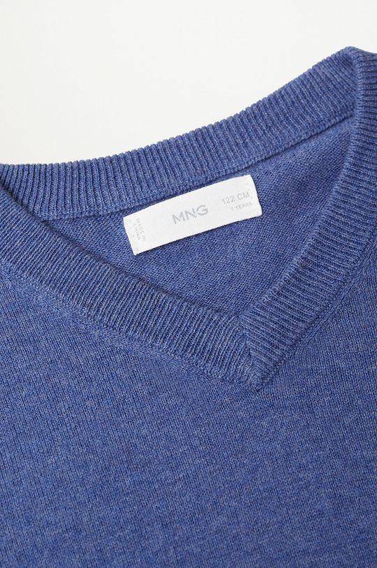 Mango Kids - Sweter dziecięcy TENPICO niebieski
