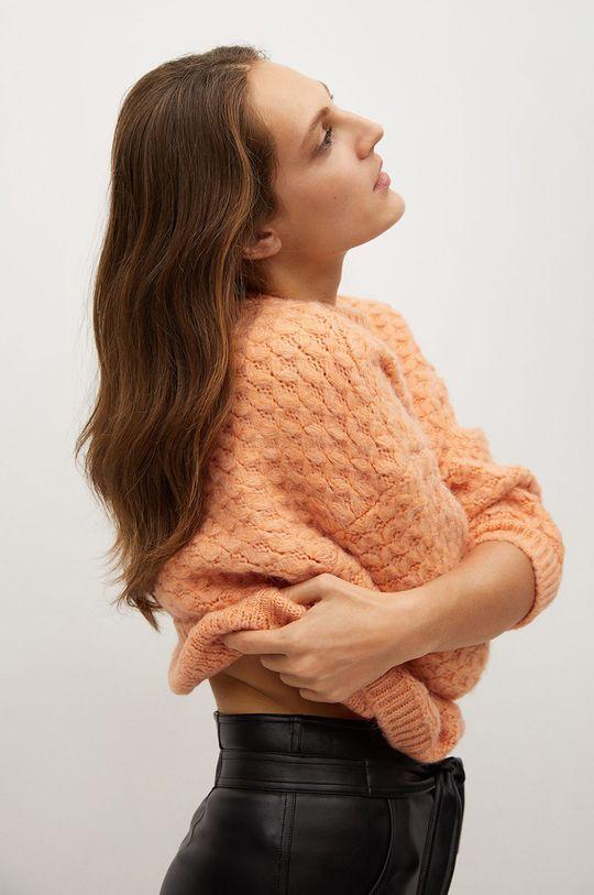 pomarańczowy Mango - Sweter NORMAN