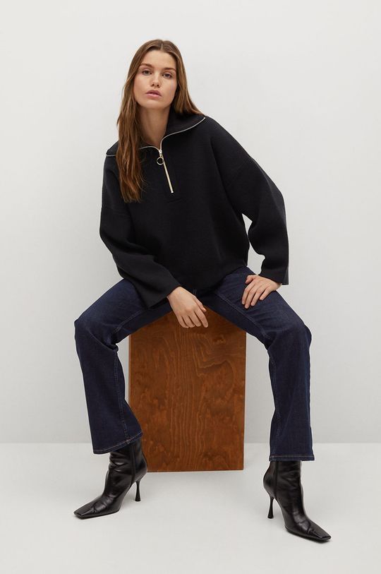 Mango - Sweter TITANIC czarny