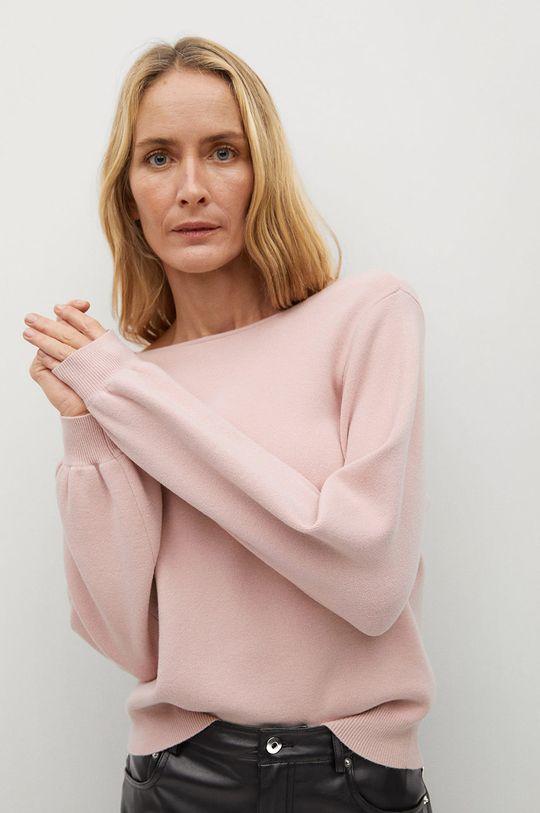 pastelowy różowy Mango - Sweter Ginesta Damski
