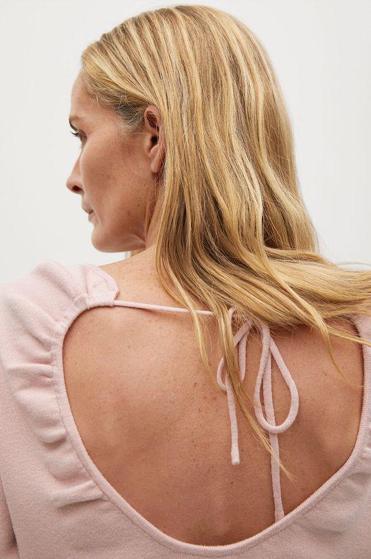 pastelowy różowy Mango - Sweter Ginesta