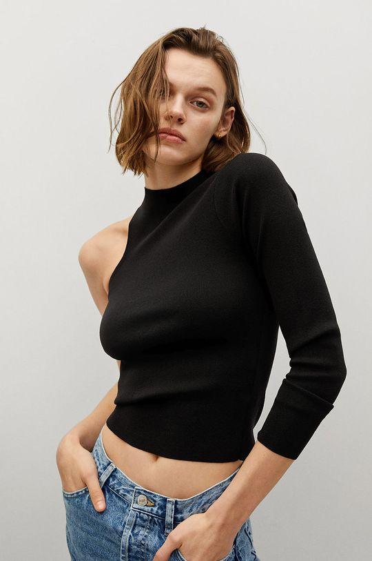 czarny Mango - Sweter TATE