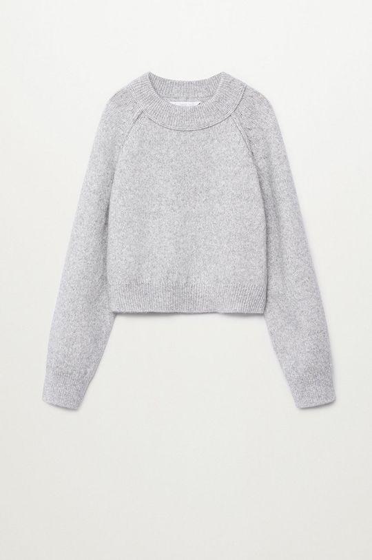 szary Mango Kids - Sweter dziecięcy RAFFI Dziewczęcy