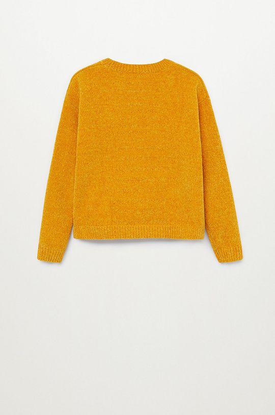 žltá Mango Kids - Detský sveter FILIPA