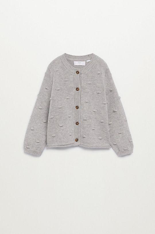sivá Mango Kids - Detský sveter BODOQUES Dievčenský