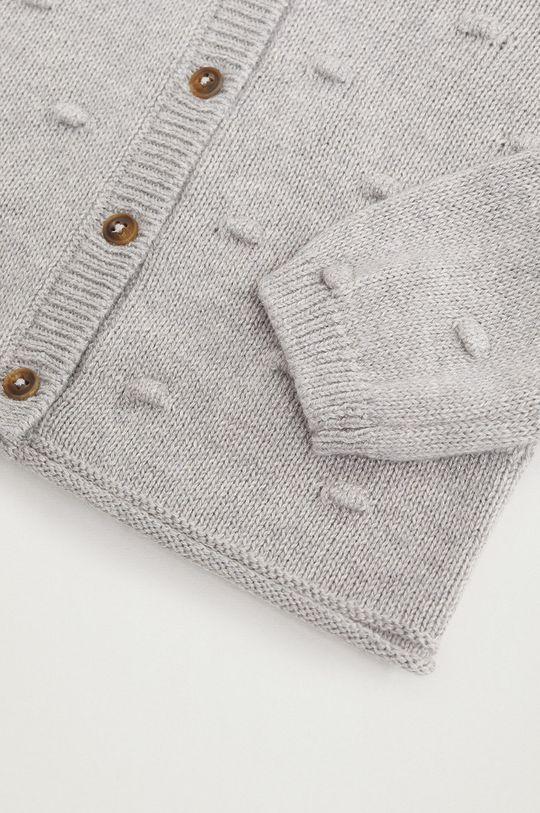 Mango Kids - Detský sveter BODOQUES  42% Akryl, 58% Bavlna