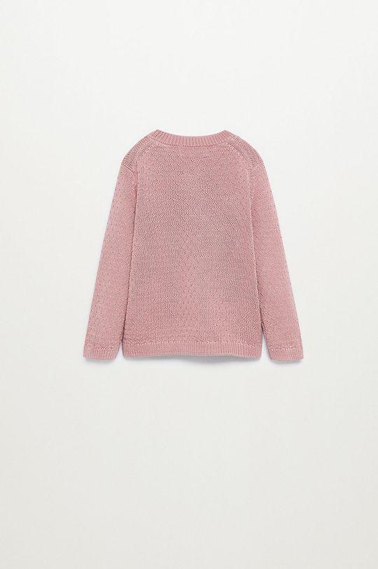 Mango Kids - Detský sveter ISABEL piesková