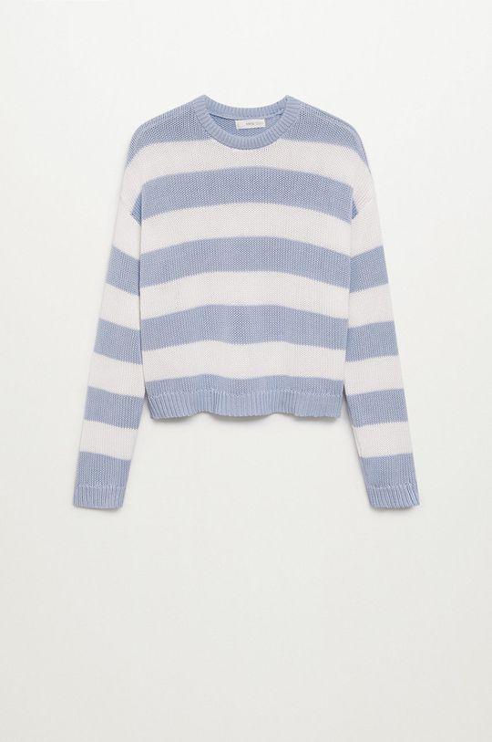 blady niebieski Mango Kids - Sweter dziecięcy KODAK Dziewczęcy