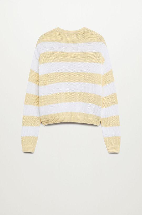 Mango Kids - Sweter dziecięcy KODAK 100 % Bawełna