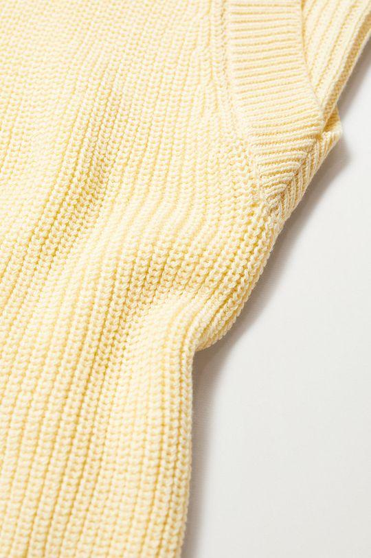 żółty Mango Kids - Sweter dziecięcy Nuria