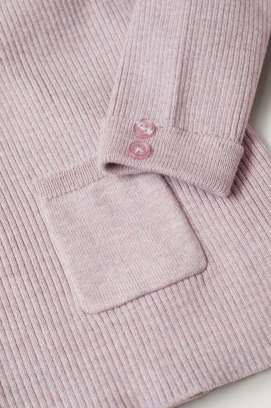 Mango Kids - Sweter dziecięcy Paolab 86-116 cm 30 % Bawełna, 40 % Poliamid, 30 % Wiskoza