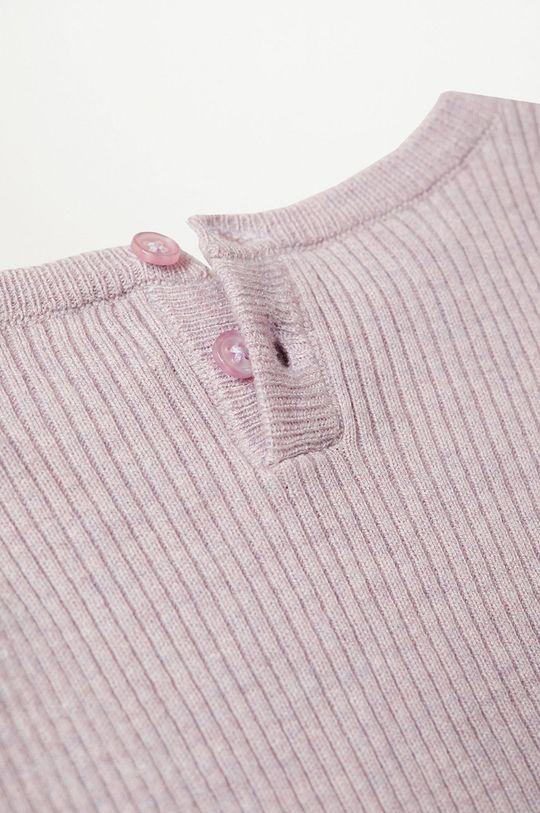 purpurowy Mango Kids - Sweter dziecięcy Paolab 86-116 cm