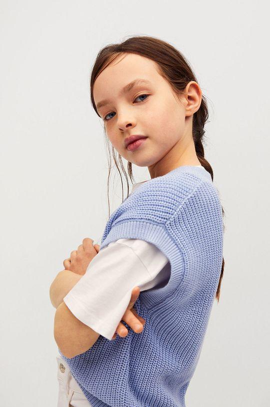 Mango Kids - Kamizelka dziecięca Vera 116-164 cm 100 % Bawełna