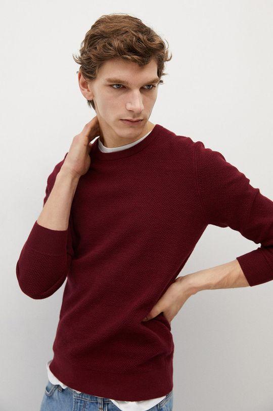 czerwony Mango Man - Sweter ANTIGUA