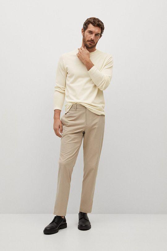 Mango Man - Sweter AVENA biały