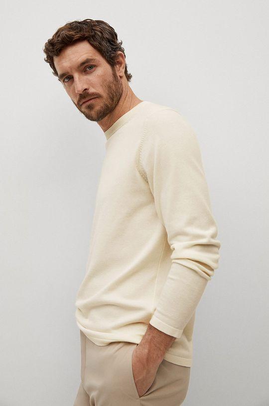 biały Mango Man - Sweter AVENA