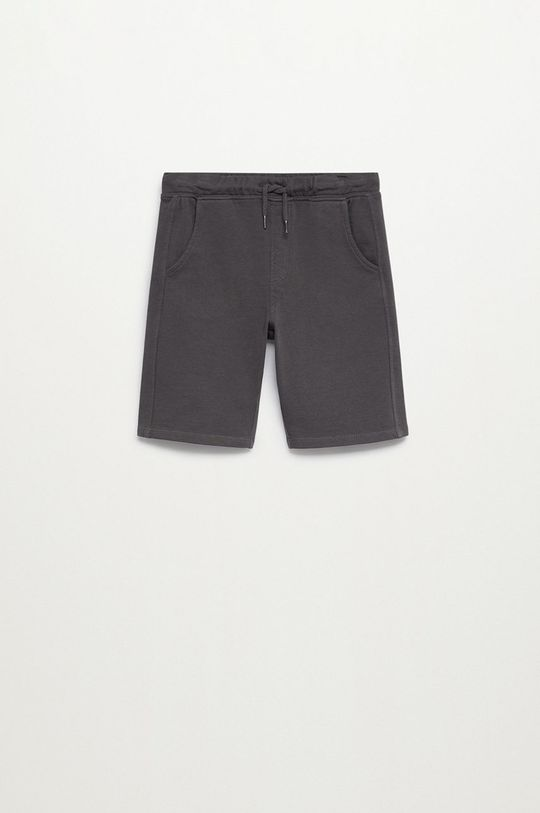svetlosivá Mango Kids - Detské krátke nohavice JAVI Chlapčenský