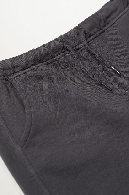 Mango Kids - Detské krátke nohavice JAVI svetlosivá