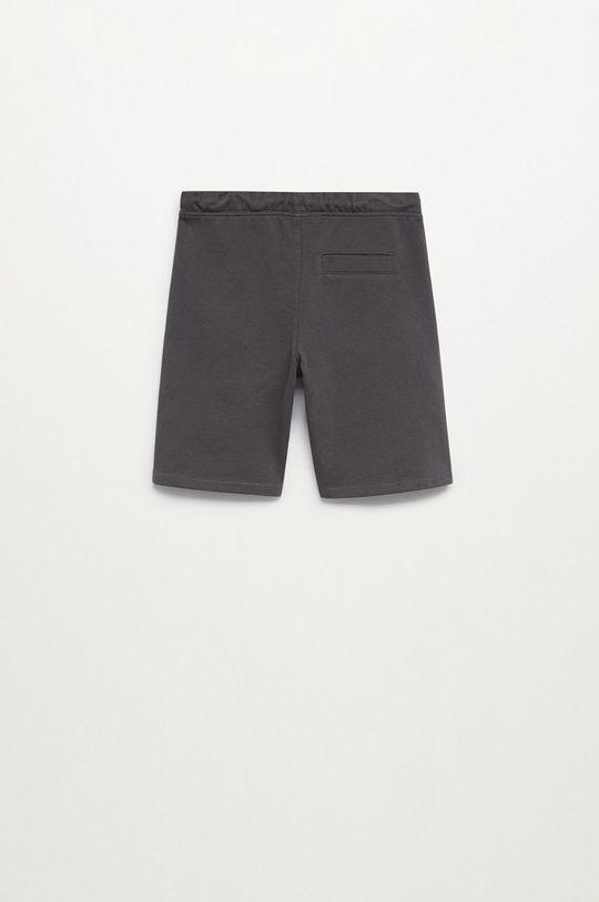 svetlosivá Mango Kids - Detské krátke nohavice JAVI