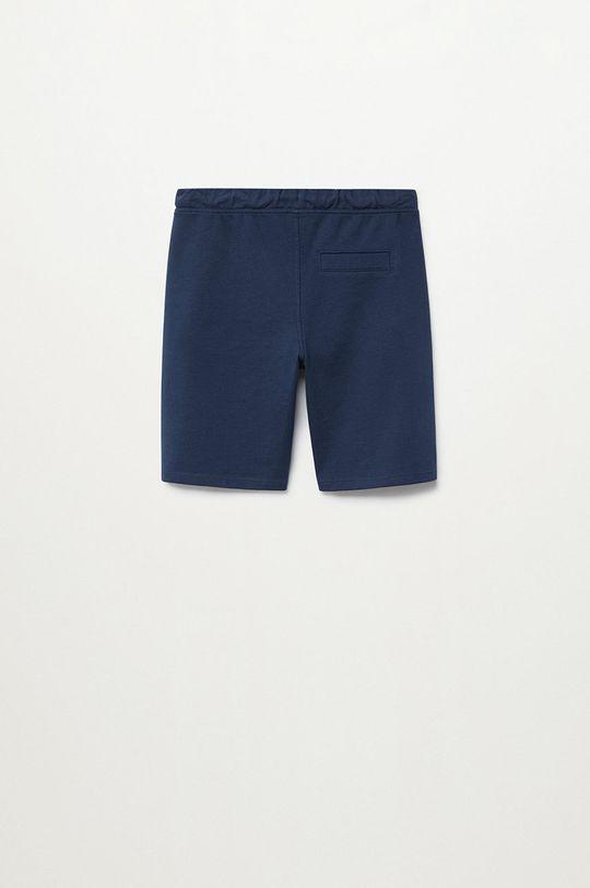 Mango Kids - Detské krátke nohavice JAVI tmavomodrá