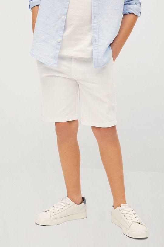 biela Mango Kids - Detské krátke nohavice Pico-I 110-164 cm Chlapčenský