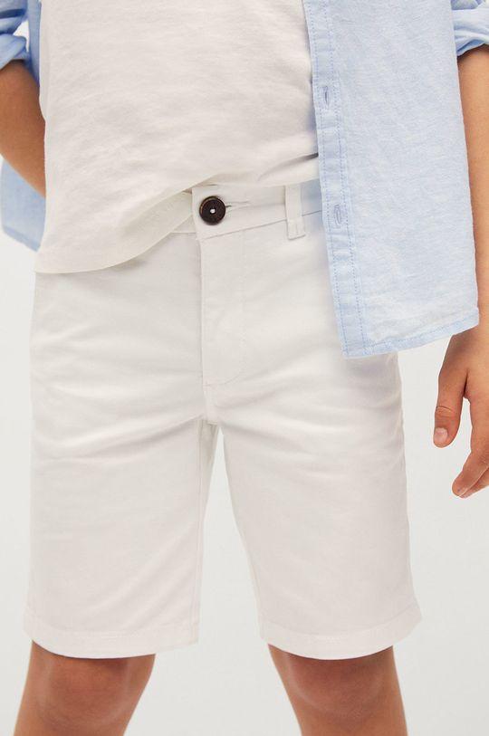 Mango Kids - Detské krátke nohavice Pico-I 110-164 cm  Podšívka: 35% Bavlna, 65% Polyester Základná látka: 97% Bavlna, 3% Elastan