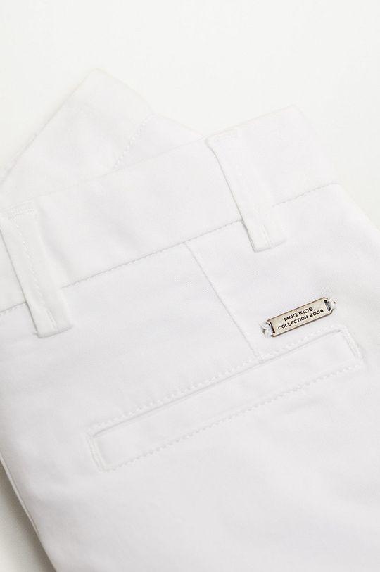 biela Mango Kids - Detské krátke nohavice Pico-I 110-164 cm