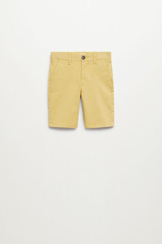 żółty Mango Kids - Szorty dziecięce Pico-I 110-164 cm Chłopięcy