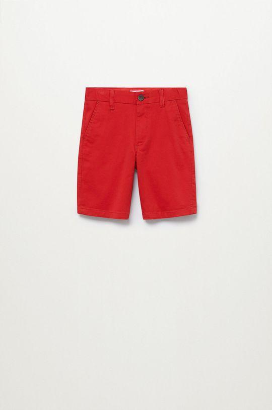 czerwony Mango Kids - Szorty dziecięce Pico-I 110-164 cm Chłopięcy