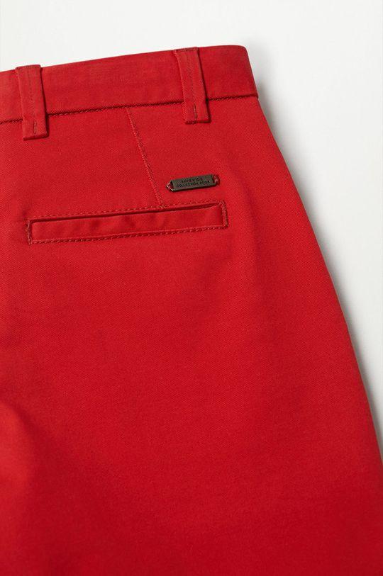 Mango Kids - Szorty dziecięce Pico-I 110-164 cm czerwony