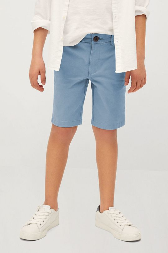 niebieski Mango Kids - Szorty dziecięce Pico-I 110-164 cm Chłopięcy