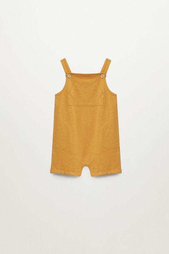 żółty Mango Kids - Ogrodniczki dziecięce ALBERTO Chłopięcy