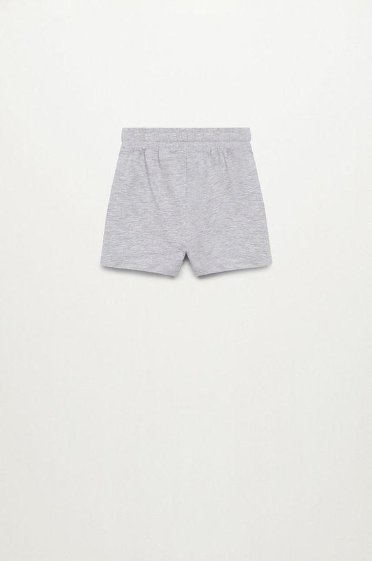 Mango Kids - Detské krátke nohavice MANU  95% Bavlna, 5% Viskóza