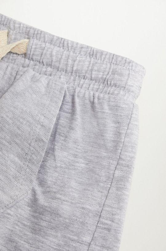 sivá Mango Kids - Detské krátke nohavice MANU