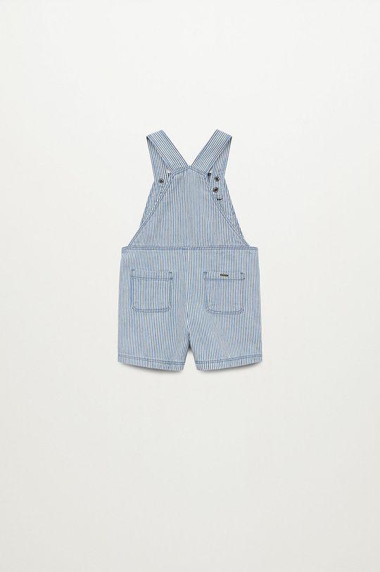 Mango Kids - Szorty dziecięce Grana8 80-104 cm niebieski