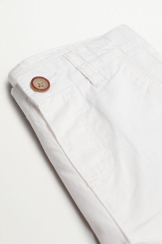 Mango Kids - Detské krátke nohavice Berachi-I 80-104 cm biela