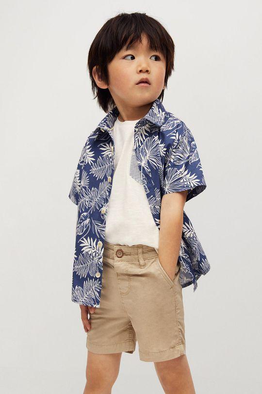telová Mango Kids - Detské krátke nohavice Berachi-I 80-104 cm Chlapčenský